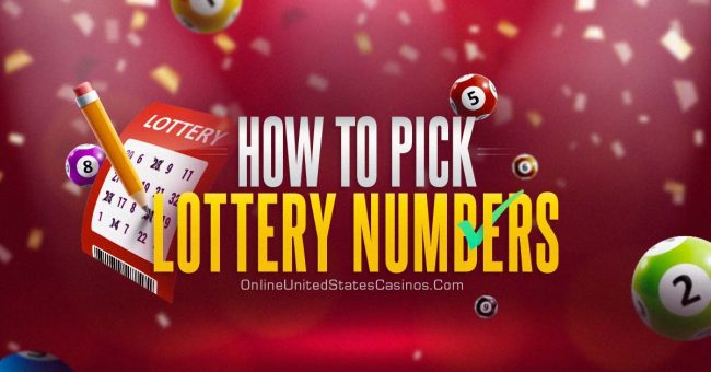 how to pick winning lottery numbers
